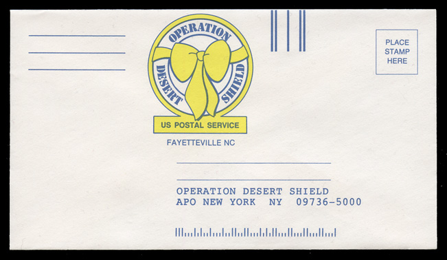 Operation Desert Shield Envelope